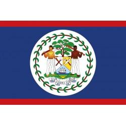 Pavillons & drapeaux Belize
