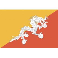 Pavillons & drapeaux Bhoutan
