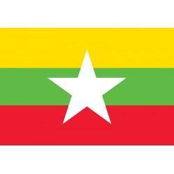 Pavillons & drapeaux Birmanie