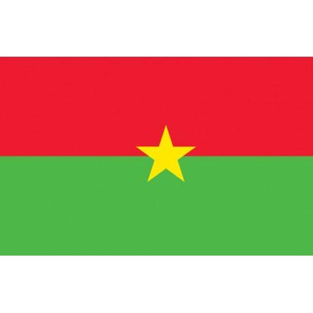 Pavillons & drapeaux Burkina Faso