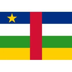Pavillons & drapeaux Centrafrique