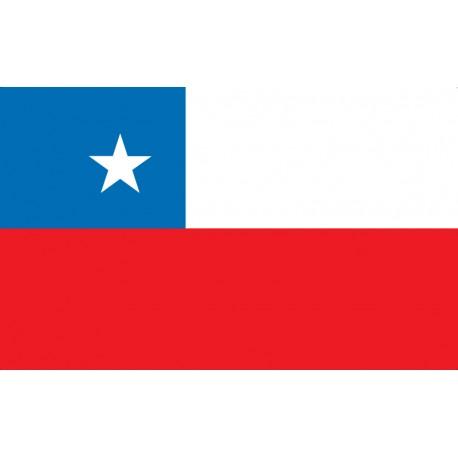 Pavillons & drapeaux Chili