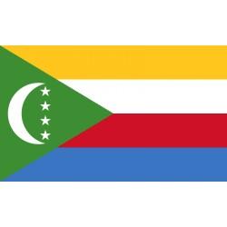 Pavillons & drapeaux Comores