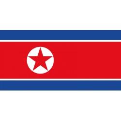 Pavillons & drapeaux Corée du Nord