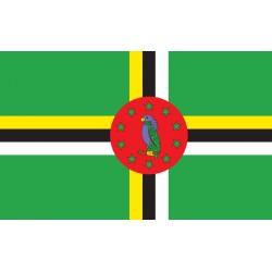 Pavillons & drapeaux Dominique