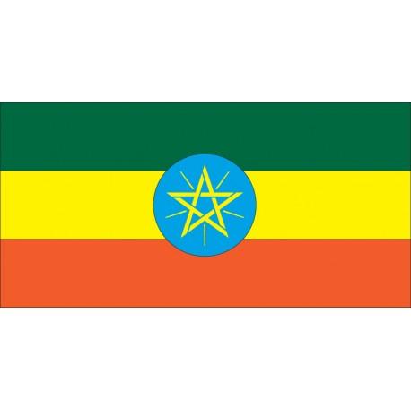 Pavillons & drapeaux Ethiopie
