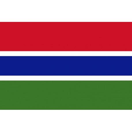 Pavillons & drapeaux Gambie