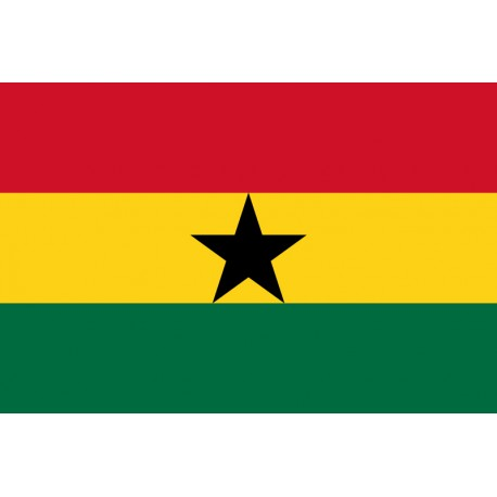 Pavillons & drapeaux Ghana