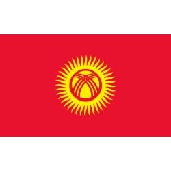 Pavillons & drapeaux Kirghizistan