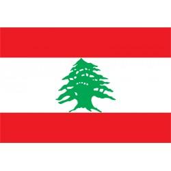Pavillons & drapeaux Liban