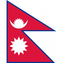 Pavillons & drapeaux Népal