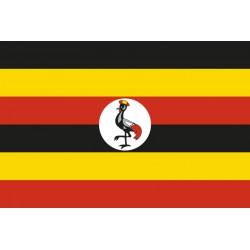 Pavillons & drapeaux Ouganda