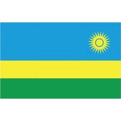 Pavillons & drapeaux Rwanda