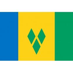 Pavillons & drapeaux Saint Vincent & Grenadine