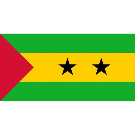 Pavillons & drapeaux Sao Tomé & Principe