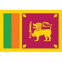 Pavillons & drapeaux Sri Lanka