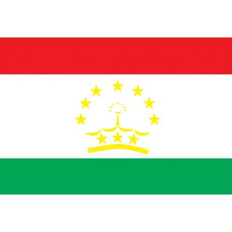 Pavillons & drapeaux Tadjikistan