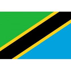 Pavillons & drapeaux Tanzanie