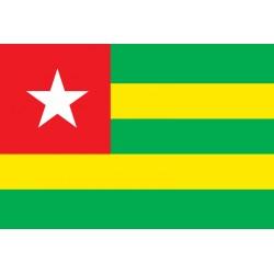 Pavillons & drapeaux Togo