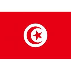 Pavillons & drapeaux Tunisie