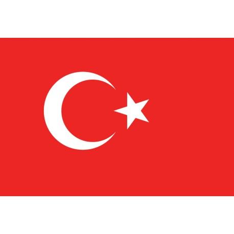 Pavillons & drapeaux Turquie