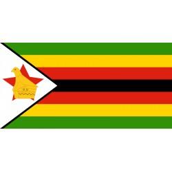 Pavillons & drapeaux Zimbabwe