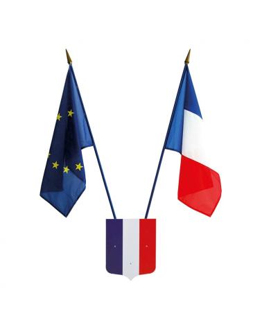 Écusson porte-drapeaux